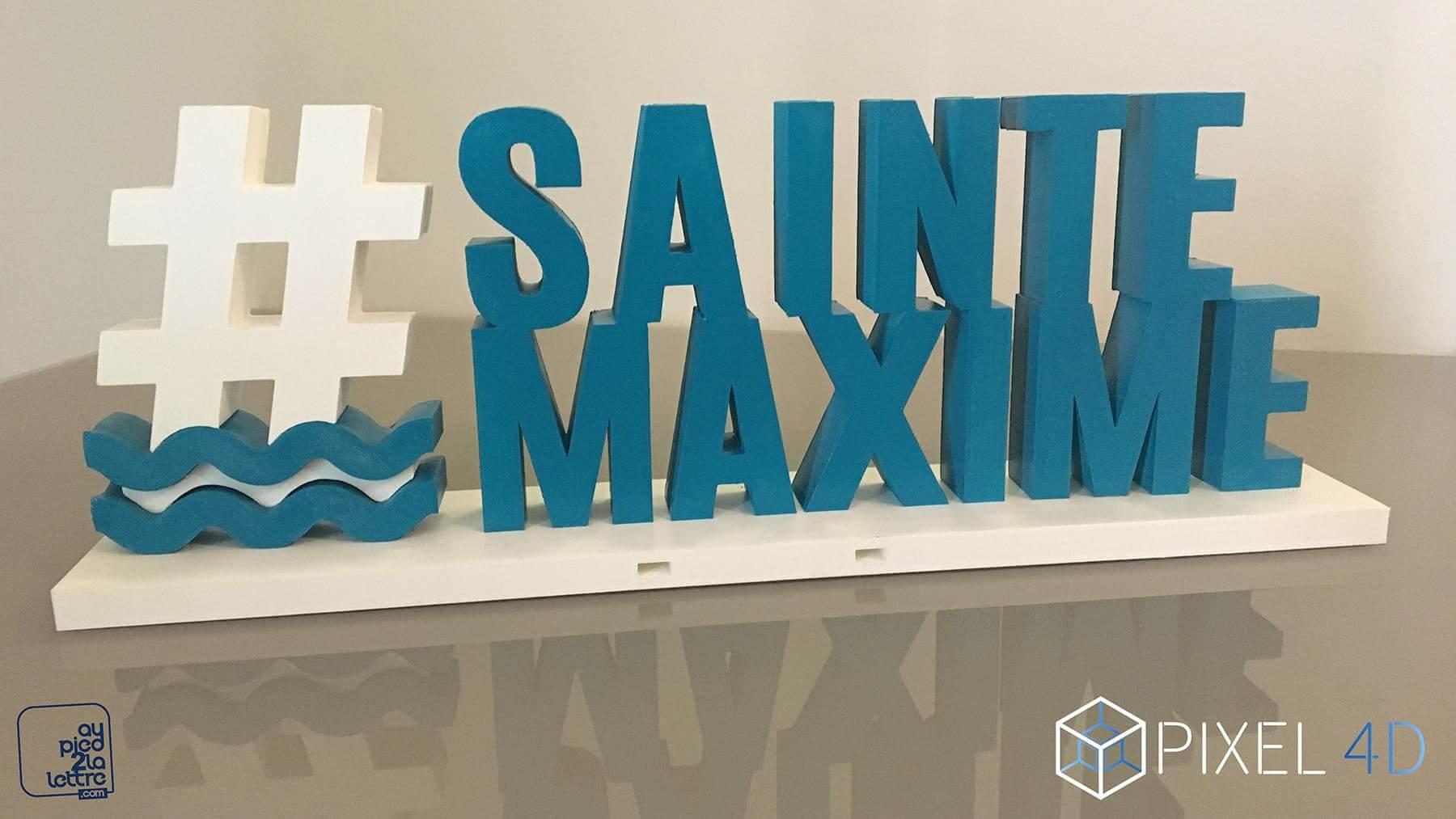 Maquette Saint Maxime