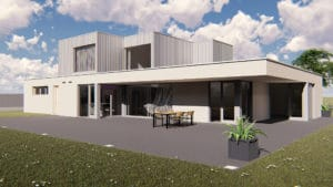 illustration 3D maison