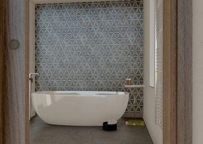 intérieur salle de bain 3d
