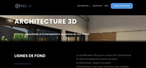 og image architecture 3D